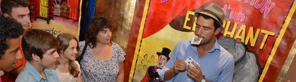 spectacle magie et animation